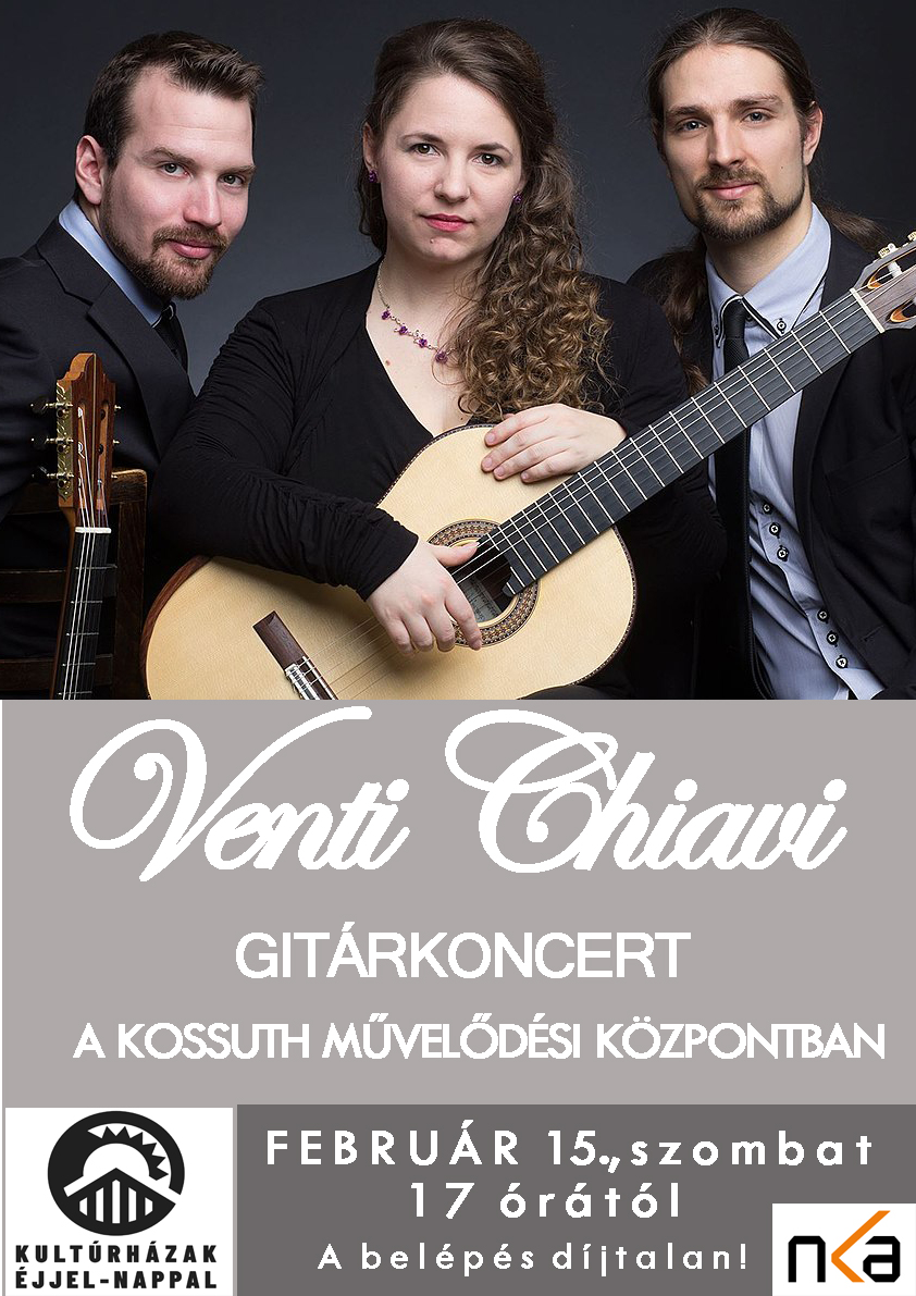 Venti Chiavi gitárkoncert